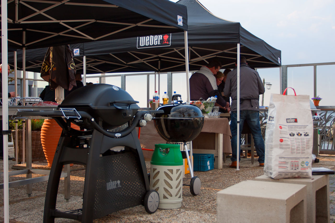 weber grill accademy paalkoepel