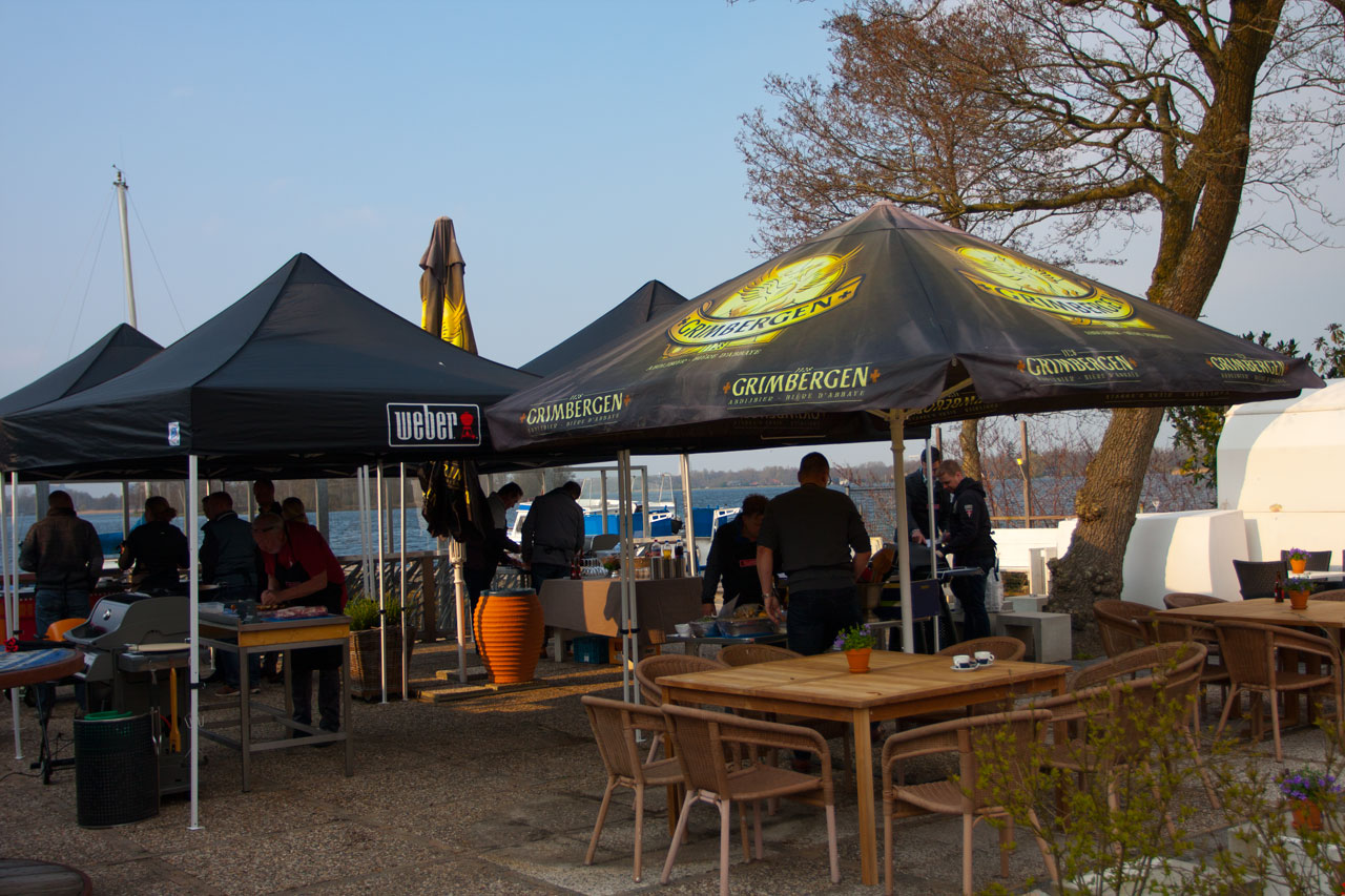 weber grill accademy cursus paalkoepel